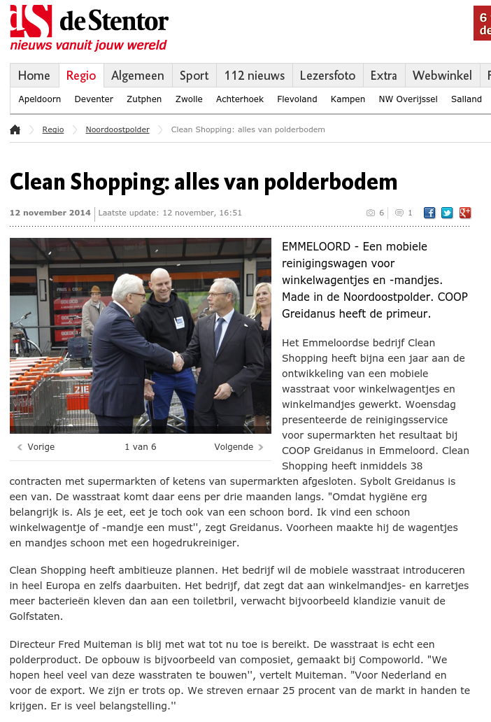 CleanShopping De Stentor